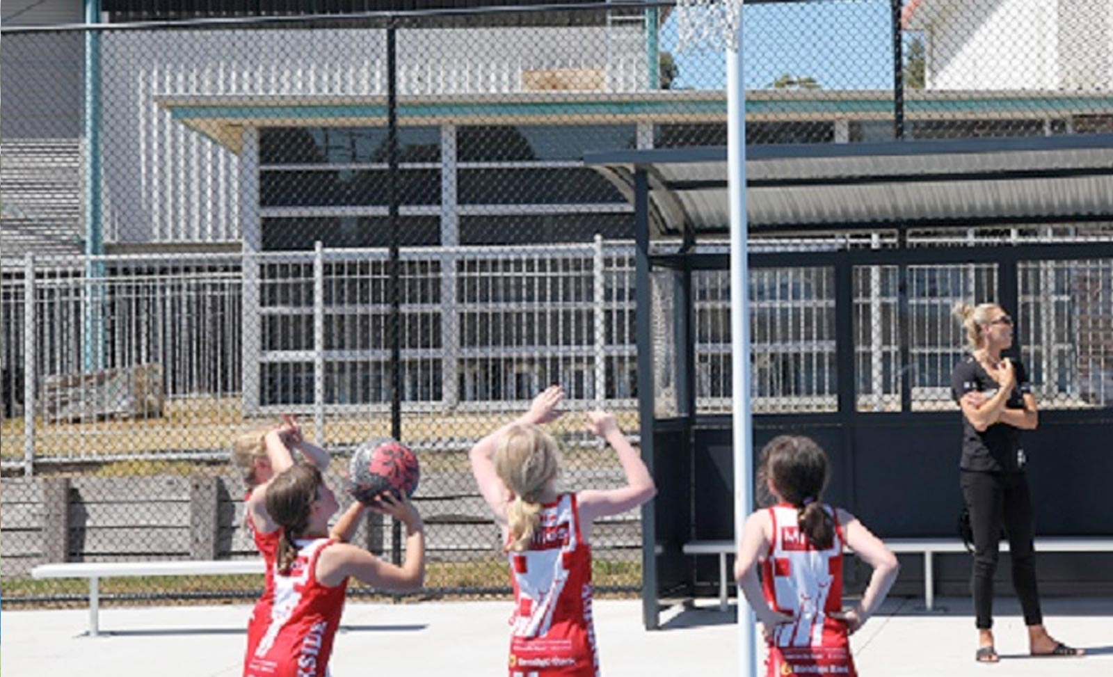 Darebin netball players
